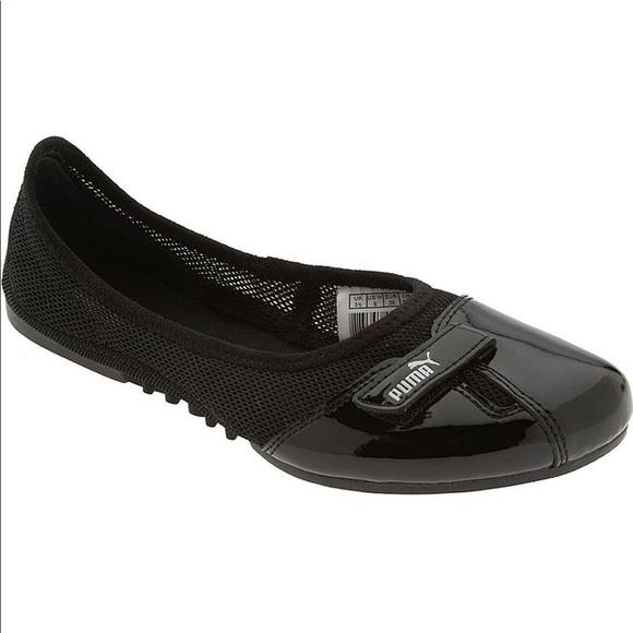 puma noir ballet flats order 7af8d 113f0
